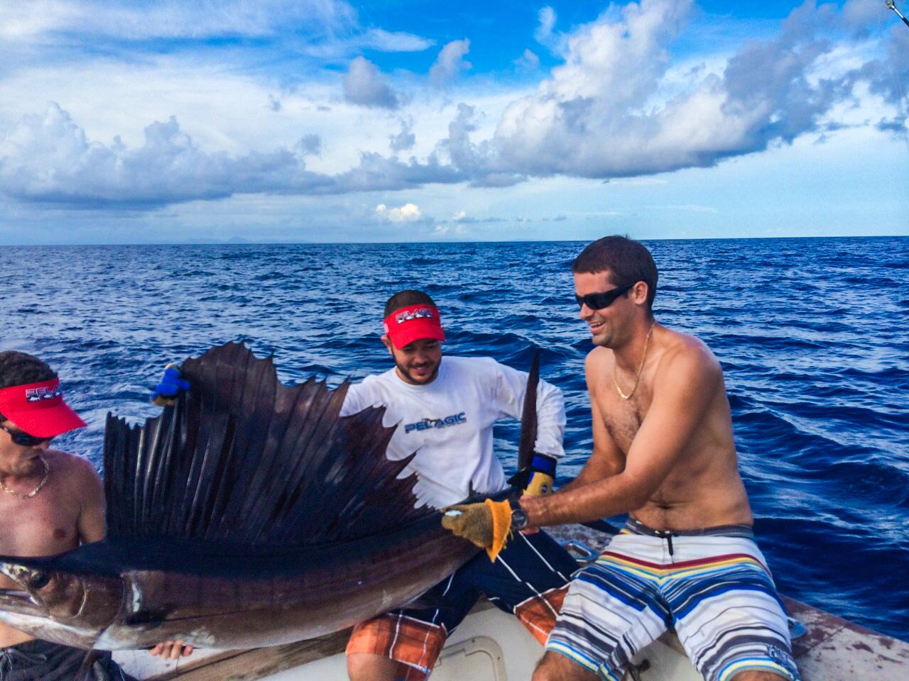 St lucia deep sea fishing barefoot holidays saint lucia for Deep sea fishing st lucia
